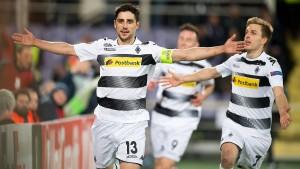 Mönchengladbach dreht ein verrücktes Europapokalspiel