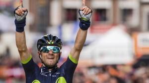 Valverde gewinnt und spendet