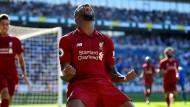 Erlösung durch Wijnaldum: Liverpool geht in Führung.