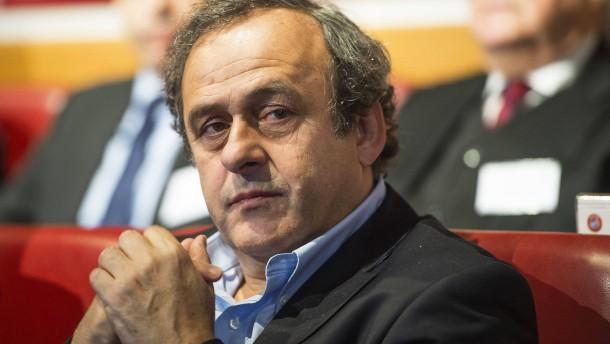 Die Uefa wünscht sich Platini zurück