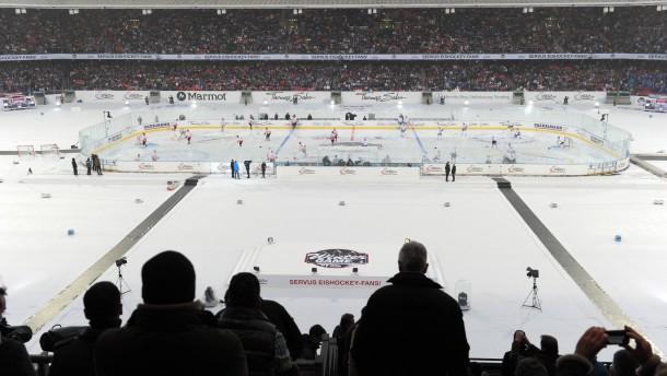 Das gab es noch nie: Eishockey vor 50.000 Zuschauern im Nürnberger Stadion