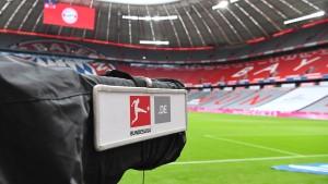 Bayern vorne, Bielefeld hinten