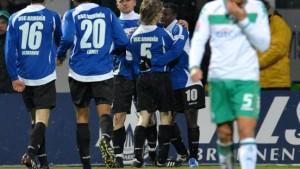 Bremen verliert den Europapokal aus den Augen