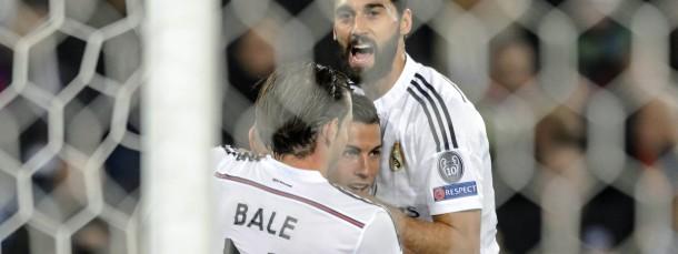 Gefeiert auch in Basel: Cristiano Ronaldo trifft