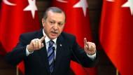 Erdogan zürnt über Türken-Häme