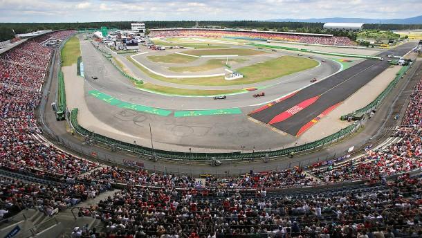 Notkalender der Formel 1 vorerst ohne Hockenheim