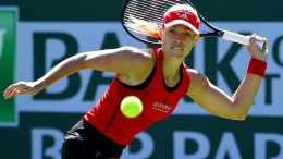 Angelique Kerber ist in Indian Wells chancenlos