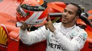 Lewis Hamilton gewinnt das Rennen in Monte Carlo und denkt dabei an den verstorbenen Niki Lauda.