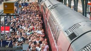 Zugbegleiterin will nicht mehr