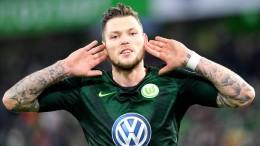 Ginczek grollt und trifft für Wolfsburg
