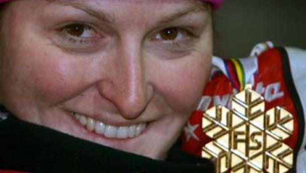Ski-WM: Gold-Hattrick von Janica Kostelic
