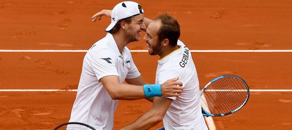 Davis Cup Deutsches Team Führt Nach Doppel In Spanien