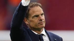 Frank de Boer nicht mehr Trainer der Niederlande
