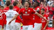 Europa, wir kommen. Mainz und Baumgartlinger spielen in der Europa League.