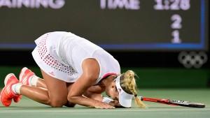 Kerber spielt um Olympia-Gold