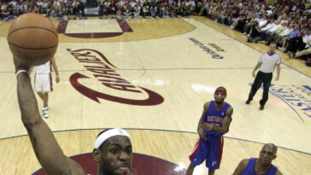 LeBron James rettet die Cavaliers