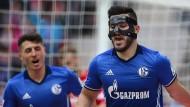 Einer behielt den Durchblick in Mainz: Kolasinac (rechts) traf für Schalke zum 1:0.