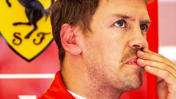 Die Probleme des Sebastian Vettel
