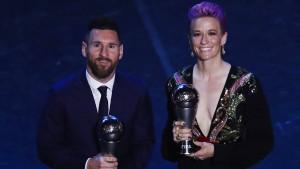 Wirbel um Weltfußballer Messi