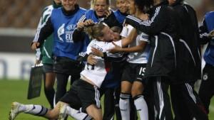 Deutsche Frauen kämpfen sich ins Finale