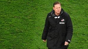 1. FC Köln bestätigt Trennung von Trainer Gisdol