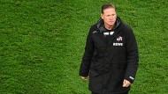 Das 2:3 gegen Mainz dürfte das letzte Spiel von Markus Gisdol beim 1. FC Köln gewesen sein.