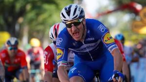 Bahnrad-Olympiasieger gewinnt Massensprint