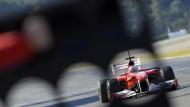 Neujahrsfest in Valencia: Am 1. Februar begann die Formel-1-Saison 2011 mit Testfahrten