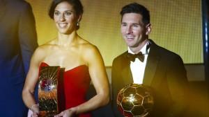 Lloyd und Messi sind die Weltfußballer