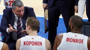 Die Basketballer der Bayern gehen unter