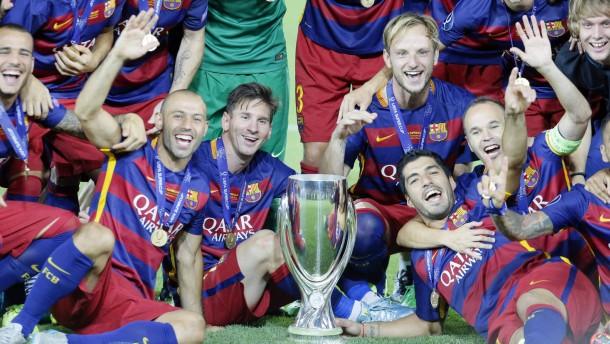 Barcelona gewinnt Torfestival von Tiflis