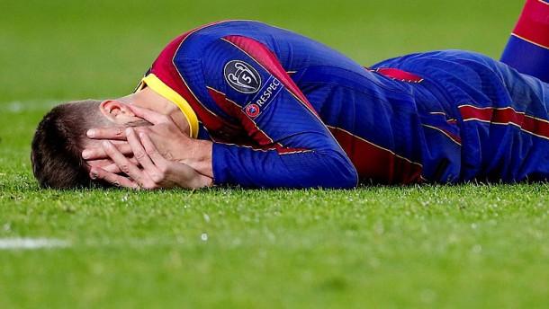 Beim FC Barcelona liegen die Nerven blank