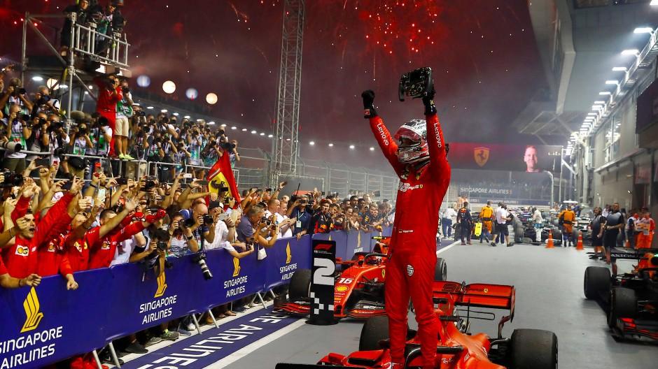Heute ein Sieger: Sebastian Vettel