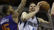 Nowitzki schwach, Dallas verliert