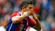 Bayern siegt mit Lewandowski-Traumtor
