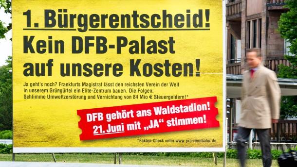 Kein Freispiel für den DFB