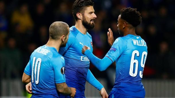 Arsenal und Braga marschieren