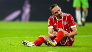 Kein erfolgreicher Abend für Franck Ribery und die Bayern.