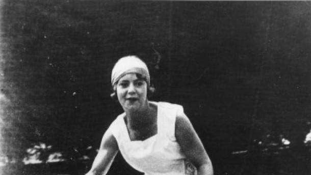 Cilly Aussem / Foto um 1928.