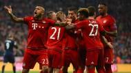 Bayern und Dortmund gegen Madrid