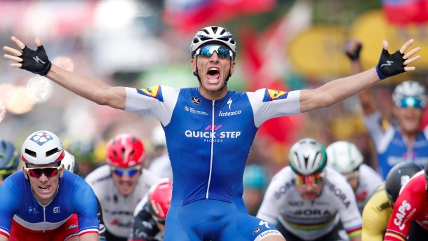 Kittels Coup bei der Tour de France