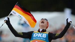 Frenzel trägt bei Olympia die deutsche Fahne
