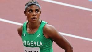 Weltklasse-Sprinterin Okagbare bei Olympia suspendiert