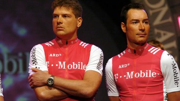Praesentation  des T-Mobile Teams
