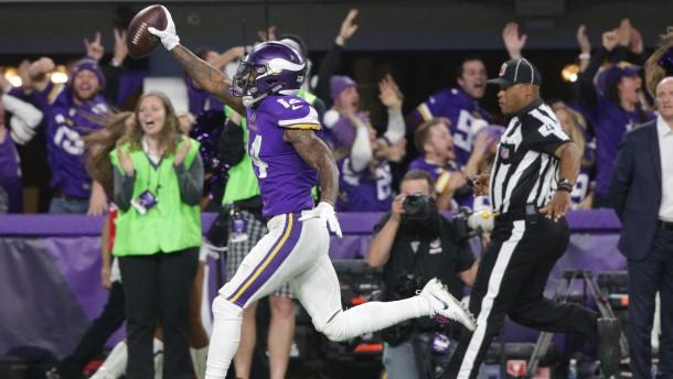 Spektakulärer Vikings-Sieg in letzter Sekunde