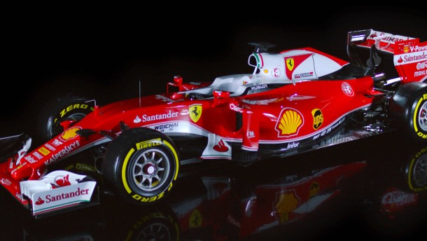 Fährt dieser Ferrari Vettel zum WM-Titel?