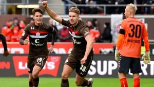 St. Pauli gewinnt – Union bleibt Dritter