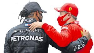 So half Hamilton Vettel nach dem Aus bei Ferrari