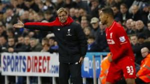 Klopp verliert mit Liverpool