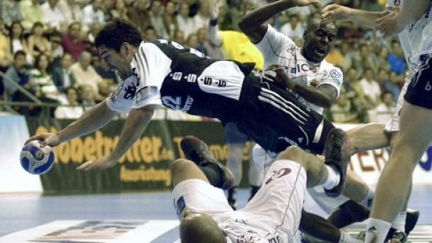 Handball Europapokalfinal Hinspiele Kiel Und Nordhorn
